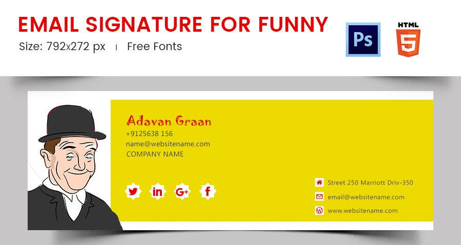 Email Signature for Funny