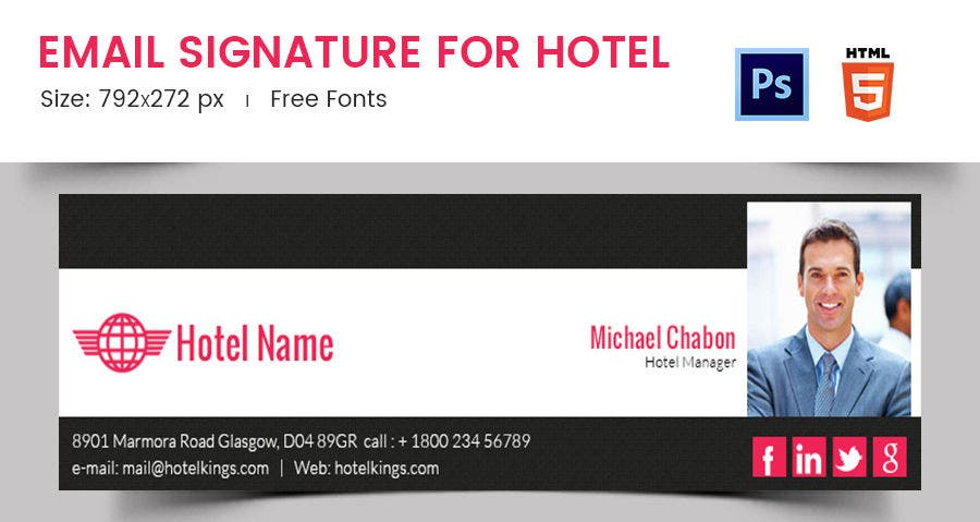 Email Signature for Hotel