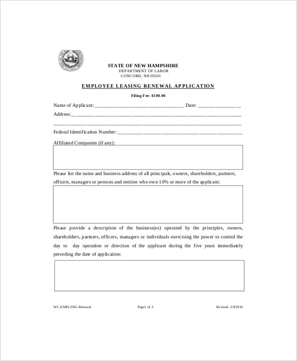 Lease Renewal Templates  Free Sample Example Format  Free