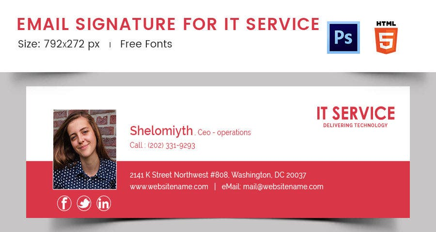 Email Signature for IT Service