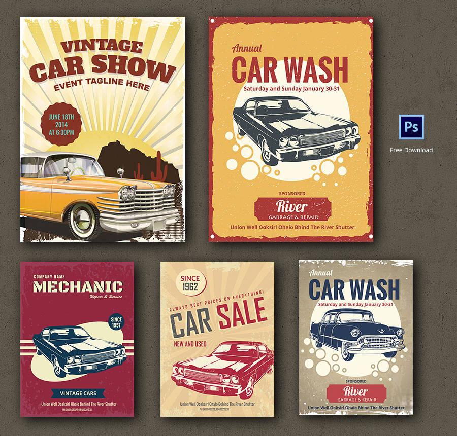 car flyer