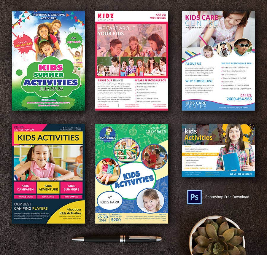 Free Flyer Templates  Real Estate Party Travel  Free
