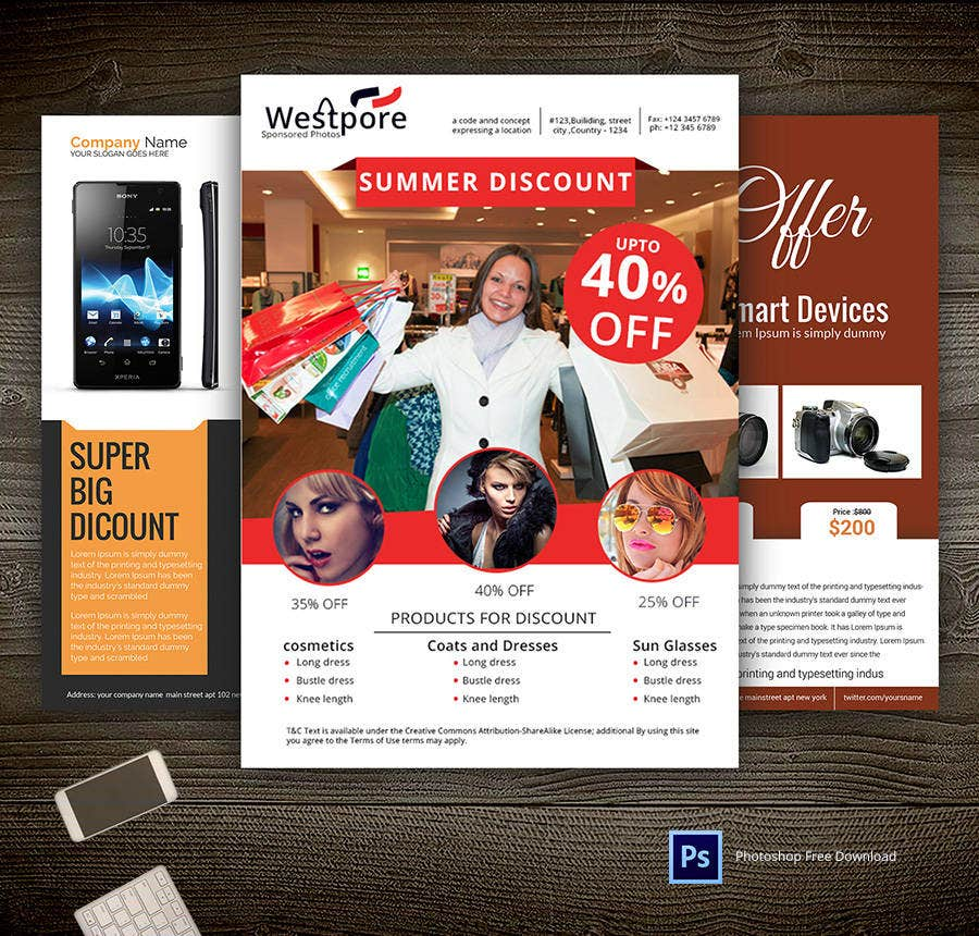 14 Free Flyer Templates Real estate Party Travel – Discount Flyer Template