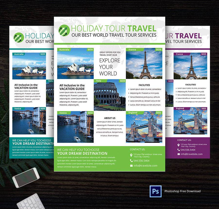 14+ Free Flyer Templates - Real estate, Party, Travel | Free ...