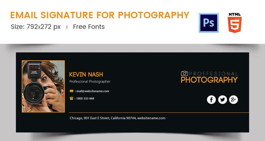 Email Signature for Photography