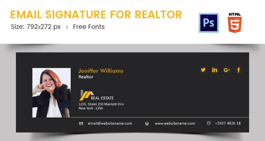 Email Signature for Realtor