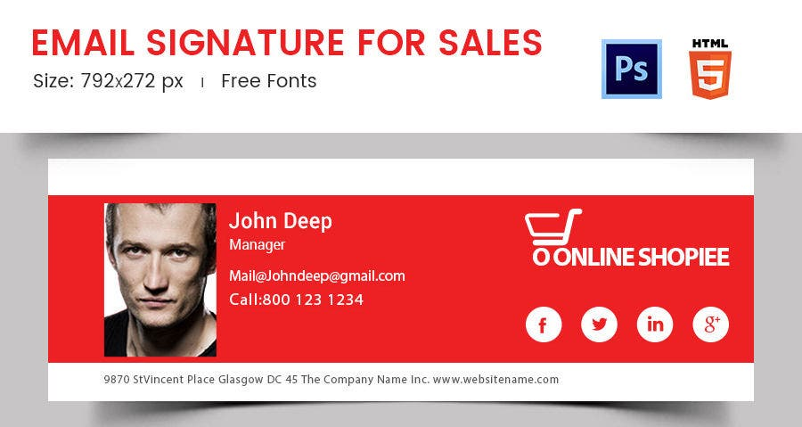 Email Signature for Sales