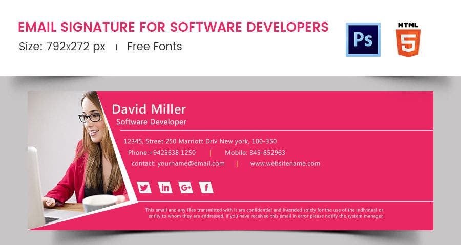 Email Signature for Software Developers