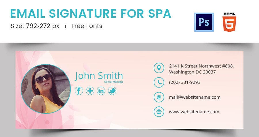 Email Signature for SPA