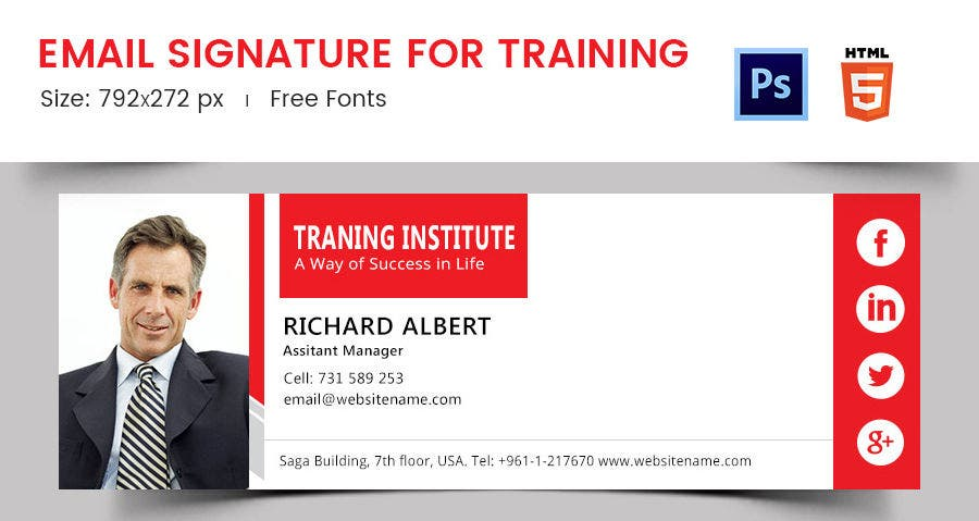Email Signature for Training