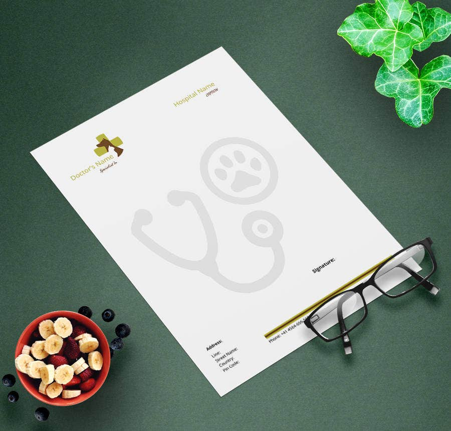9 Free Doctors Prescription Templates Cardiology Dentistry – Point of Contact Template