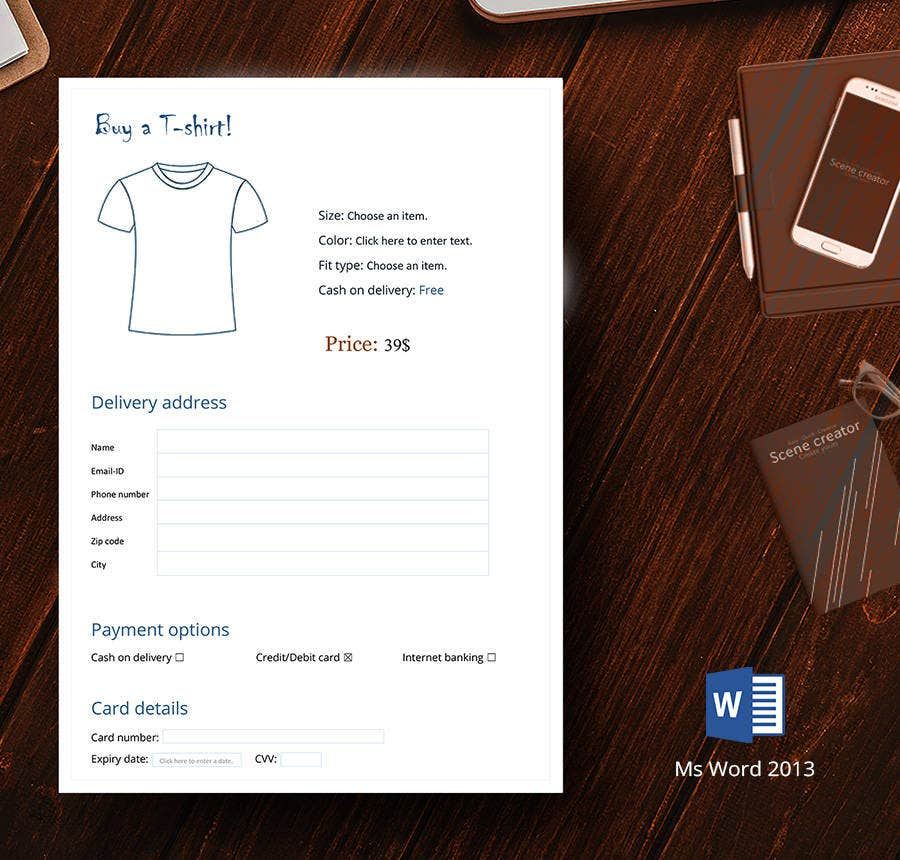 Free TShirt Order Forms Henley Hooded Graphic Free - Property of t shirt template
