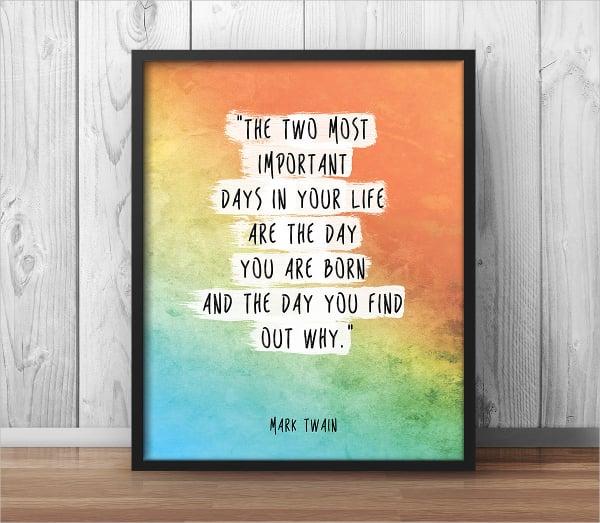 Life Motivation Poster
