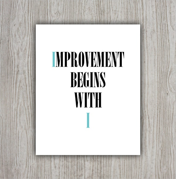 wall art motivation poster
