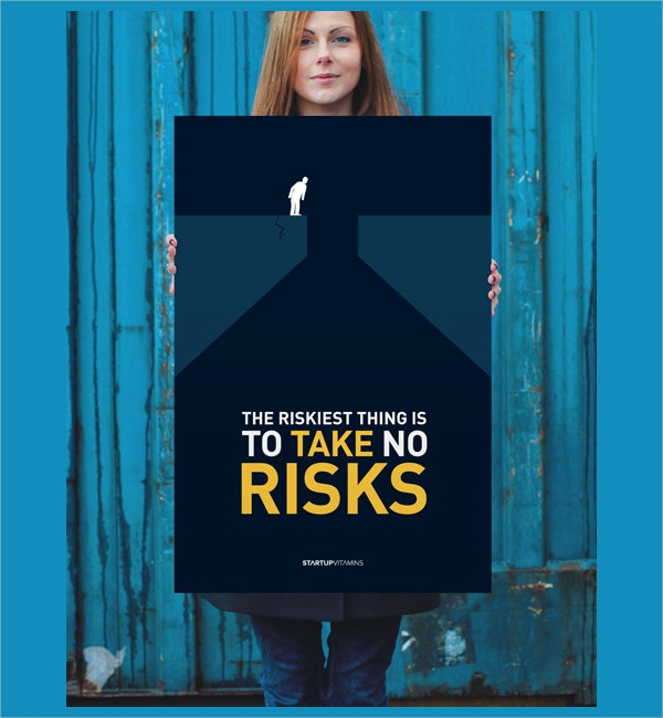 risk taking motivational poster
