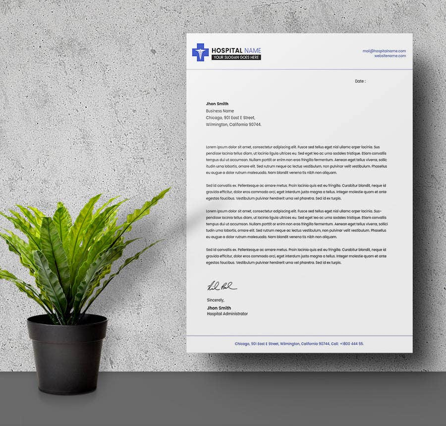 24  free letter head templates