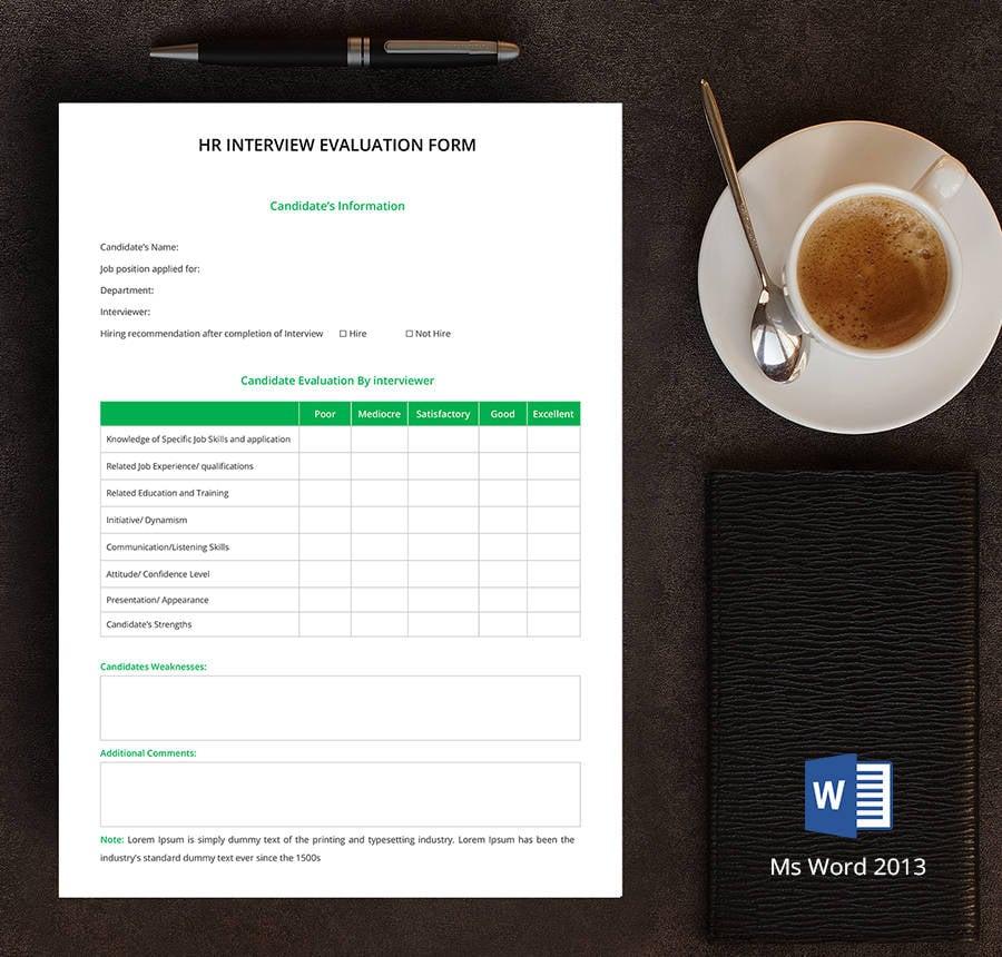 8+ Free Hr Forms (Job Descriptions, Guildline Form, Complain Form