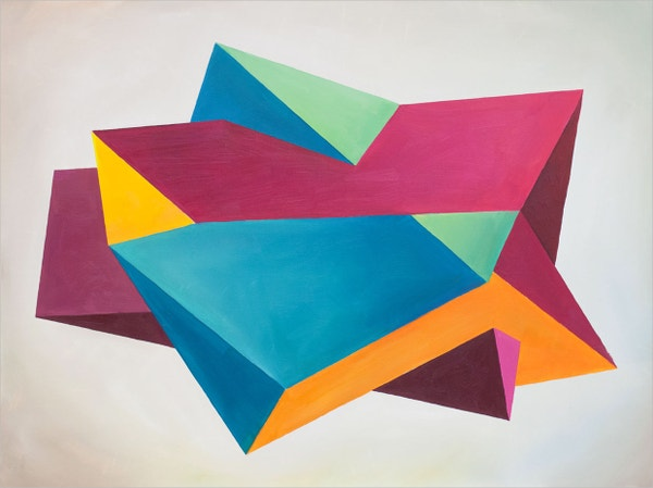 Modern Geometric Paintings