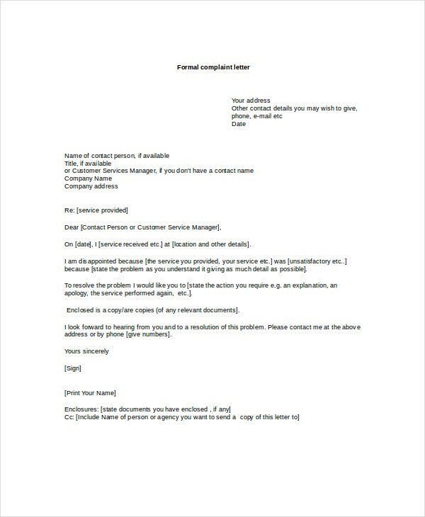 Letter Format Uk Business Letter Format  Best Letter Format