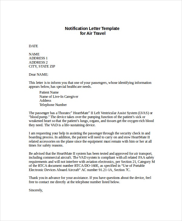 Formal Letter Format - 11+ Free Word, Pdf Documents Download