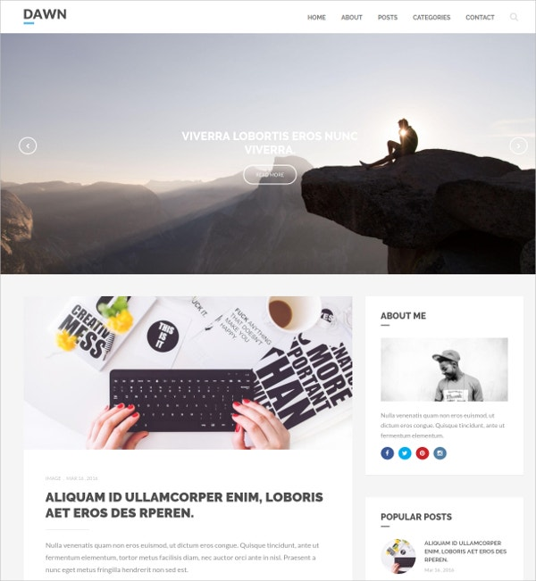 Fastest WordPress Theme for Blogs $44