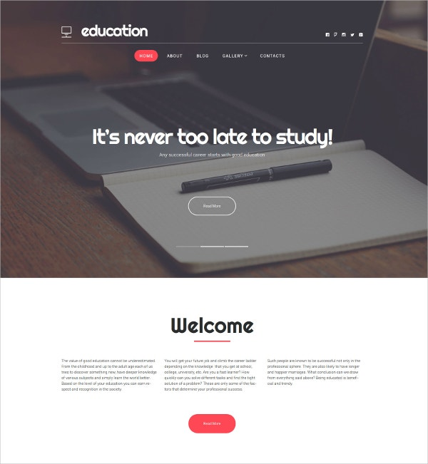 Fastest Education Hub WordPress Theme $75