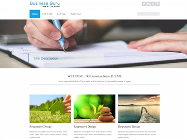 fastest modern business wordpress theme