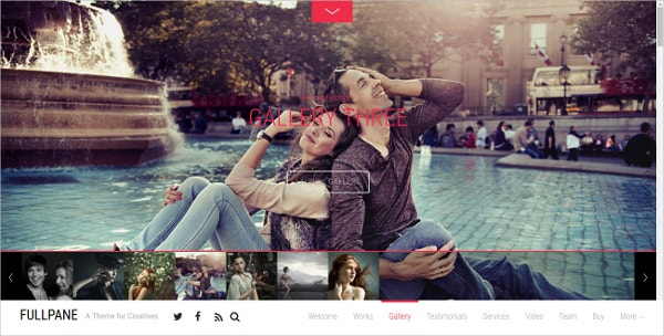 fastest parallax wordpress theme