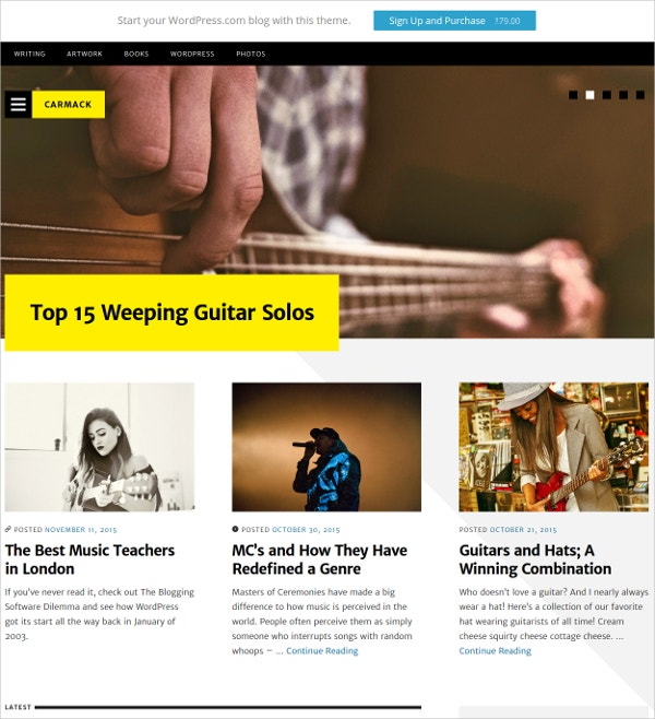 magazine entertainment fastest wordpress theme