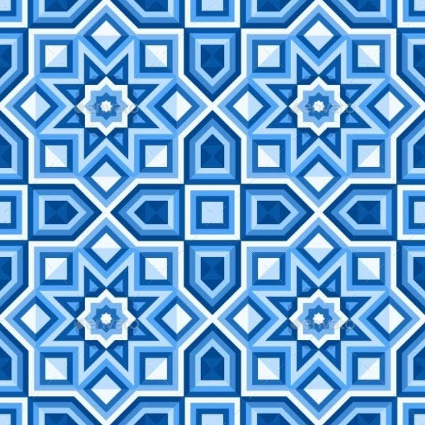 vector illustration floor tile patterns