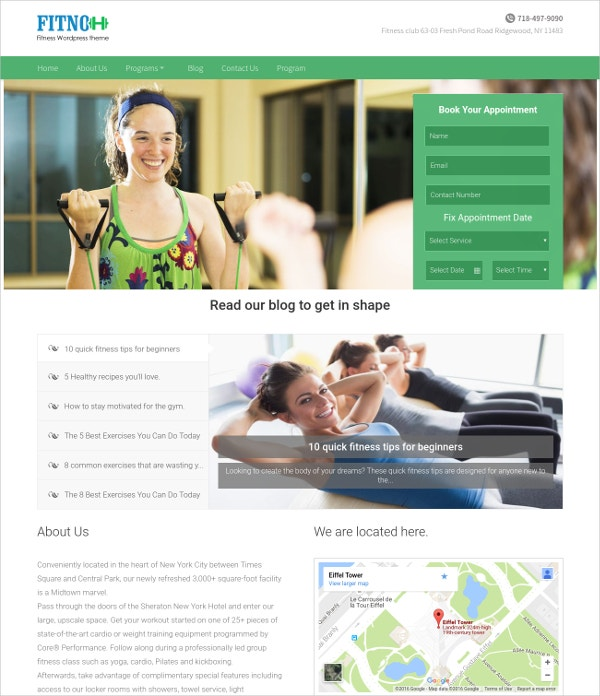 Stunning Yoga Style WordPress Website Theme $79