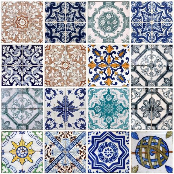 Lisbon Tiles Pattern