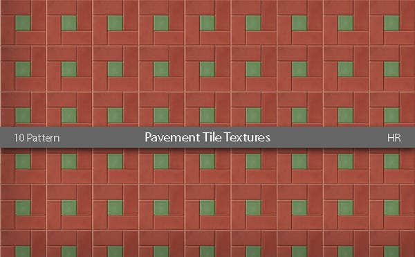 pavement tiles pattern