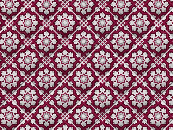 Spanish Style Floor Tile Pattern