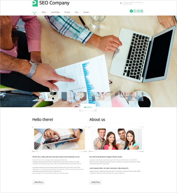 wordpress seo company theme