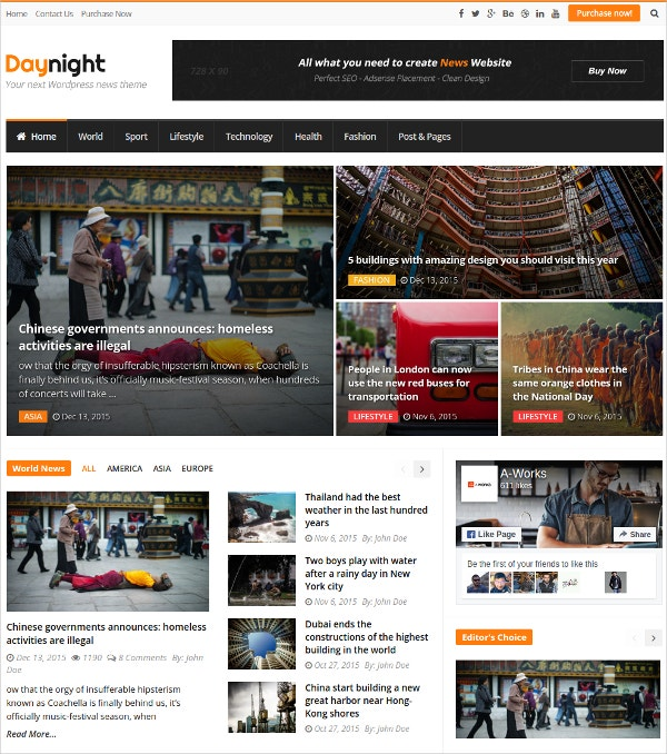 wordpress seo magazine theme