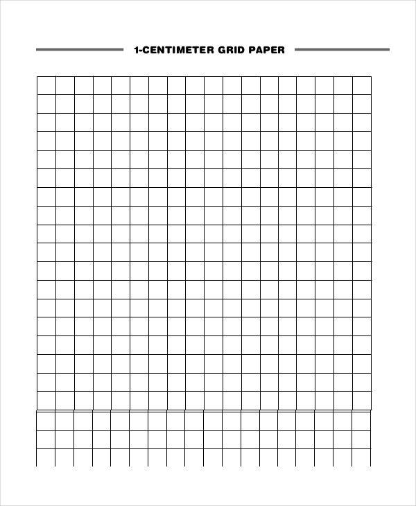 Lined Paper 10 Free Word PDF PSD Documents Download – Math Grid Paper Template