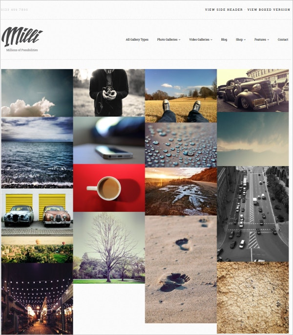 55 Best Photography WordPress Themes 2019