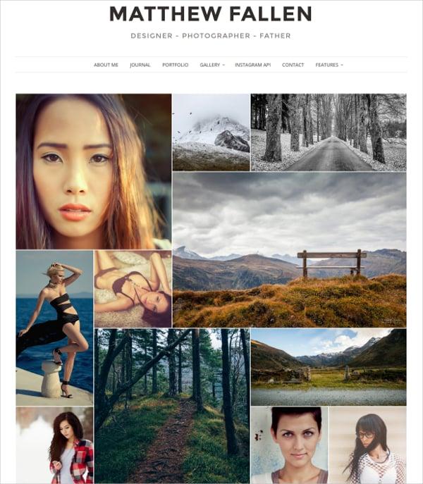 unique photography gallery wordpress theme 39