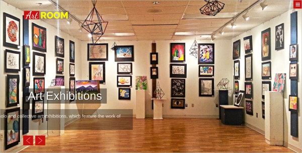 Art Photo Gallery WordPress Theme