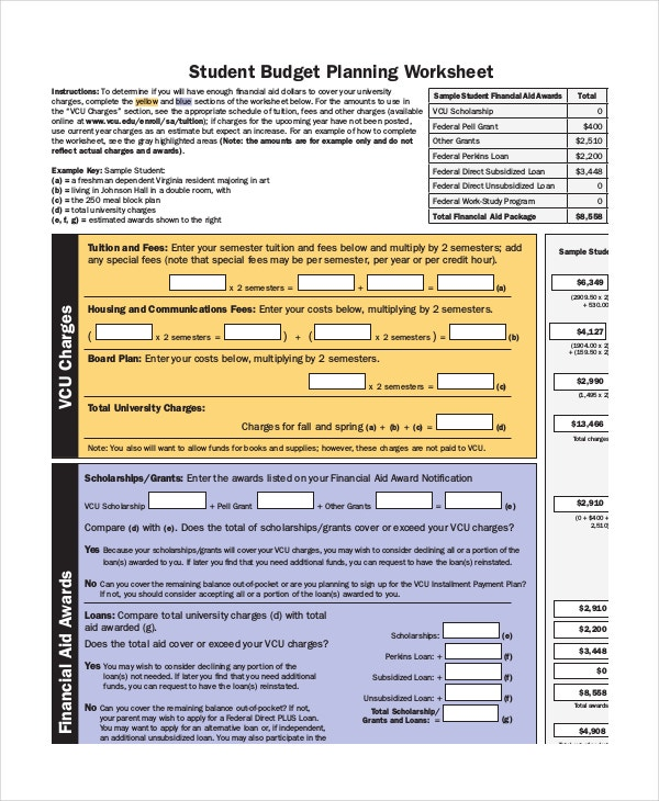 student-budget-planning-worksheet