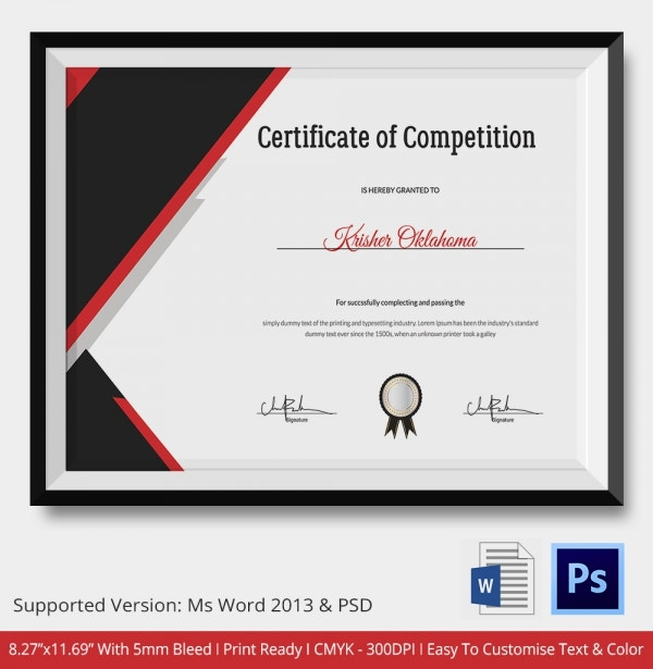Volleyball Certificate - 5+ Word, Pdf Documents Download | Free
