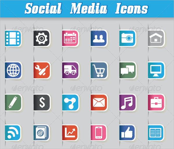 Vector Social Media Icon