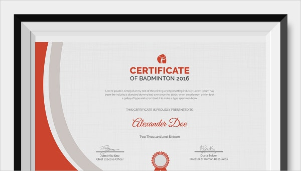 badmintoncertificatetemplate