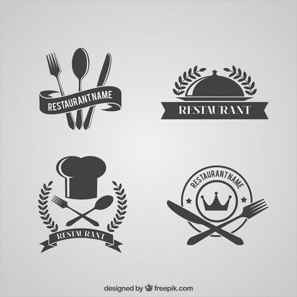 retro restaurant logos