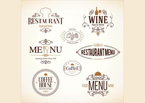 simple restaurant logo