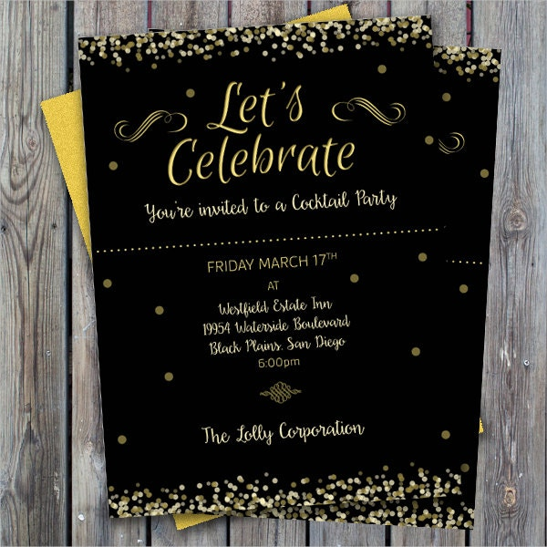 printable cocktail party invitation