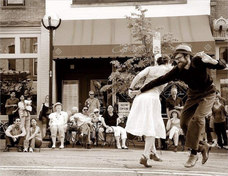 Dancing In The Street Photography