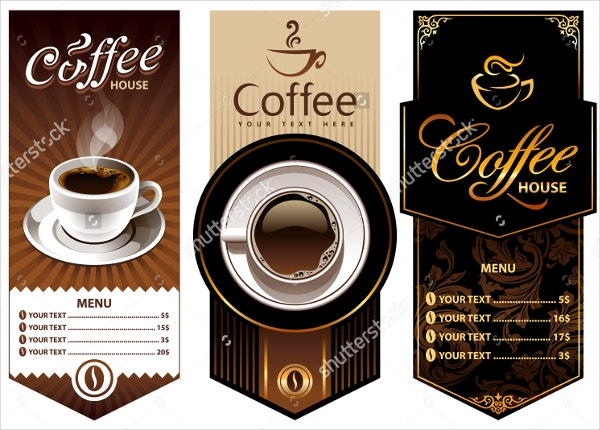 Three Coffee Design Templates.