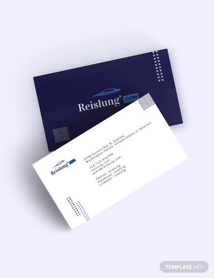 auto dealer business card